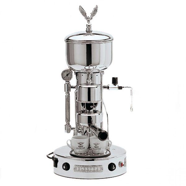 Euroquick Elektra Microcasa Semi Automatica chroom Espressomachine