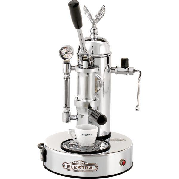 Elektra Microcasa A Leva chroom Espressomachine