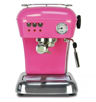 Ascaso Dream espressomachine Fuchsia