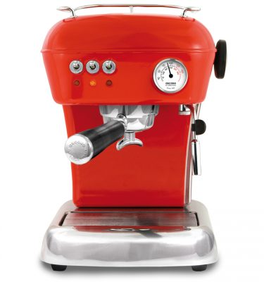 Ascaso Dream espressomachine Rood