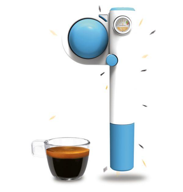 Handpresso Pump Pop Blauw
