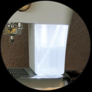 watertank verlichting led ascaso dream