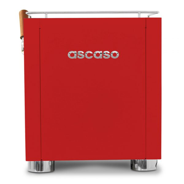 Ascaso Baby T PLUS Rood achterkant